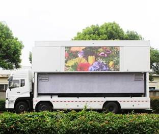led stage container Truck V12